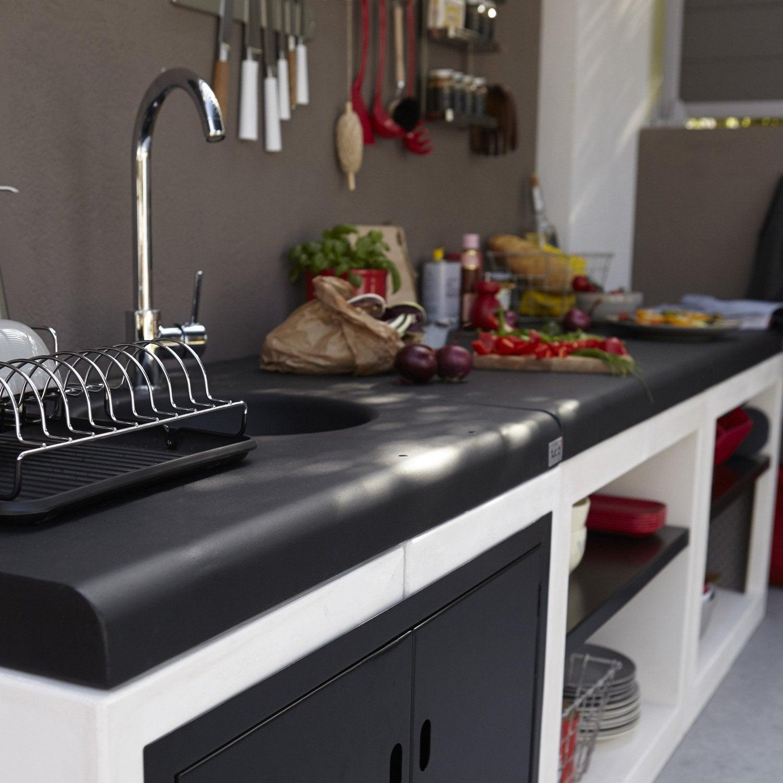 Cuisine extrieure leroy merlin stunning papier peint cuisine castorama sur idees de decoration - Cuisine exterieure castorama ...
