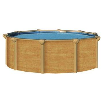 Piscine hors-sol acier Osmose luxe, Diam.5.85 x H.1.32 m