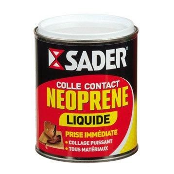 Colle néoprène liquide Multi - usages SADER, 750ml