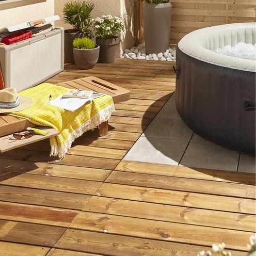 planche bois pin kuhmo marron x cm x mm leroy merlin. Black Bedroom Furniture Sets. Home Design Ideas