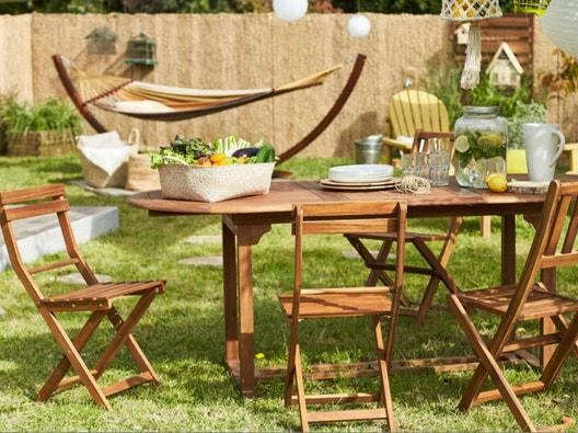 Salon De Jardin Table Et Chaise Leroy Merlin