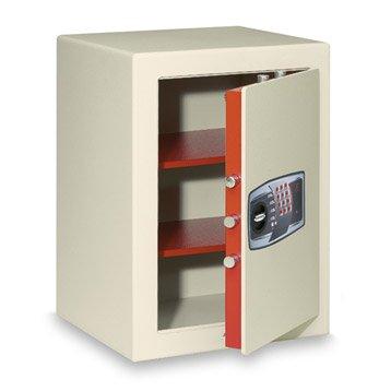 Coffre-fort à code TECHNOMAX smt/8p Smt/8p H.60 x l.43 x P.40 cm