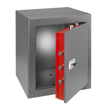 Coffre-fort à clé TECHNOMAX technofire Dpk/7 H.49 x l.43 x P.43 cm