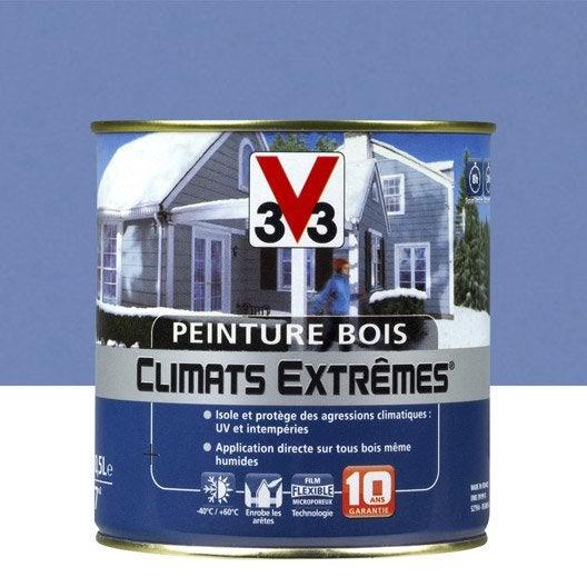 Peinture bois ext rieur climats extr mes v33 brillant for V33 peinture bois exterieur