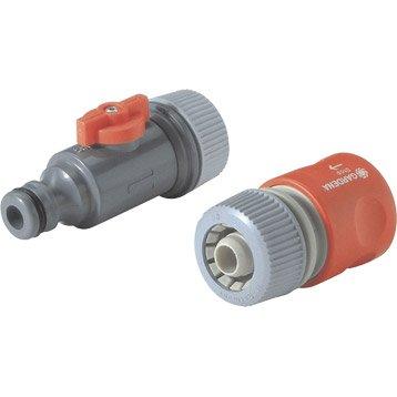 Kit de raccordement pour tuyau microporeux GARDENA 1989-20