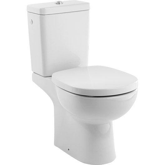 Wc Poser Wc Abattant Et Lave Mains Toilette Leroy Merlin