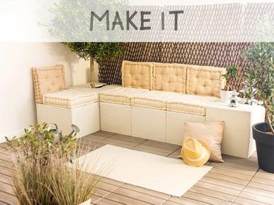 diy cr er un canap malin leroy merlin. Black Bedroom Furniture Sets. Home Design Ideas