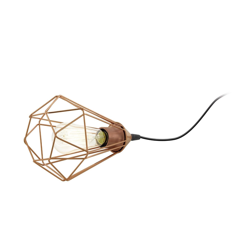 Lampe, chic, acier inox cuivre, INSPIRE Byron