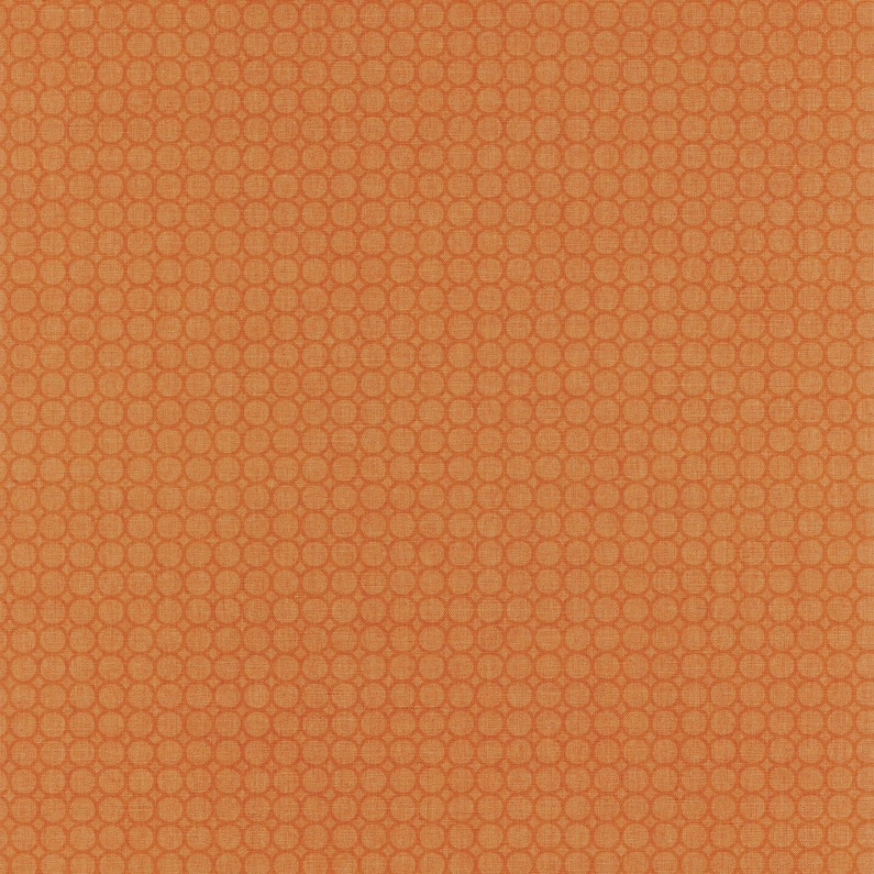 Papier Peint Vinyle Swing Semi All Over Orange Leroy Merlin