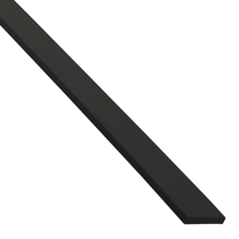 Plat Pvc Mat Noir L1 M X L3 Cm X H03 Cm