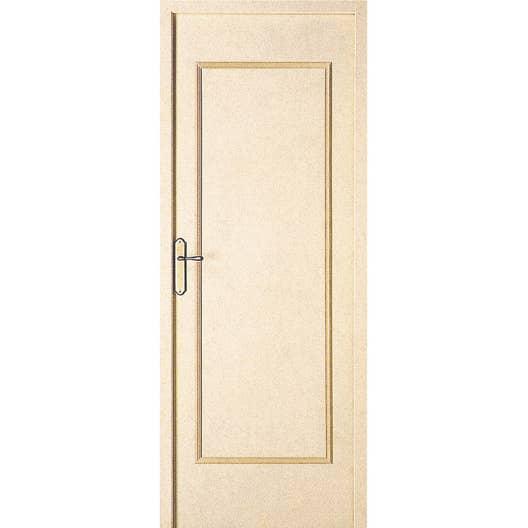 dcor de porte tagai de 2 panneaux droits bois