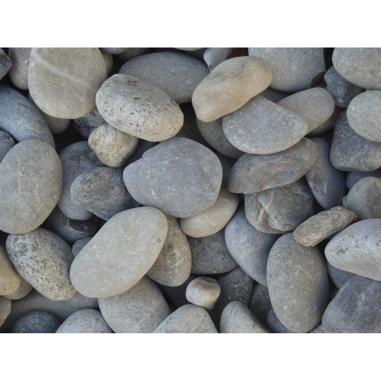 galets pierre naturelle gris gabions 20 50mm 1 t leroy. Black Bedroom Furniture Sets. Home Design Ideas