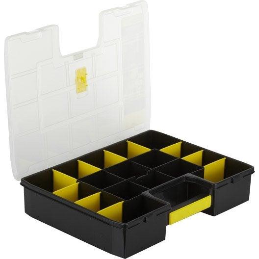 malette plastique stanley x h 9 x cm leroy merlin. Black Bedroom Furniture Sets. Home Design Ideas