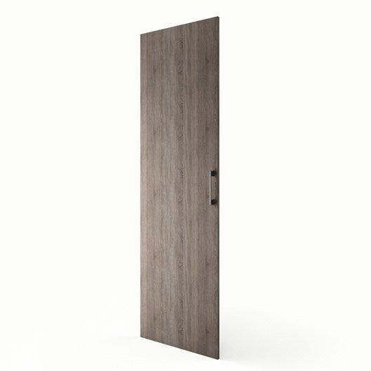 Porte colonne de cuisine d cor ch ne havane topaze x - Colonne de cuisine 60 cm ...