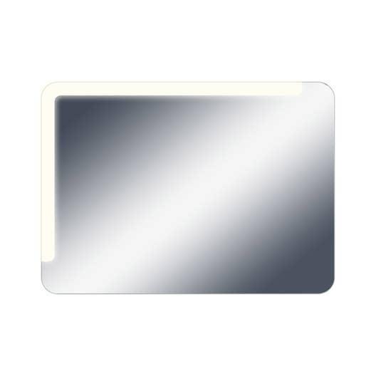 Miroir lumineux avec clairage int gr x cm neo shine leroy merlin for Miroir 50 x 90