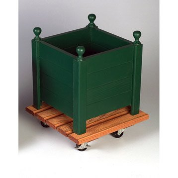 support roulant pour poterie - bois, métal | leroy merlin