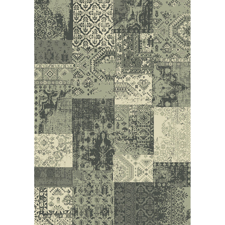 Tapis gris velours, l.160 x L.230 cm