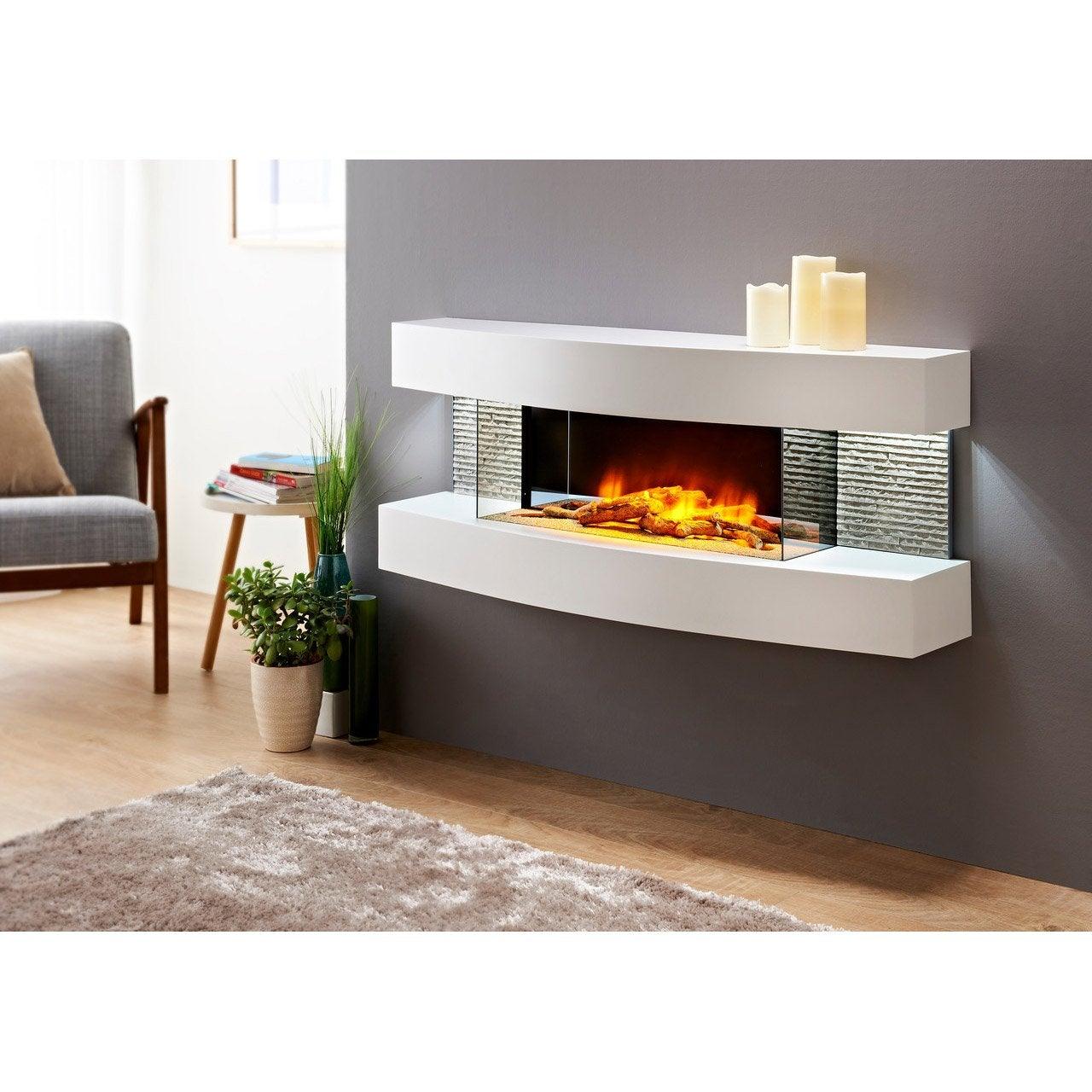 Beau Cheminée électrique CHEMINu0027ARTE Design Lounge 146, 2000 W