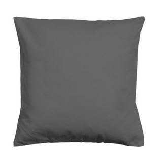Coussin Newelema INSPIRE, gris anthracite l.35 x H.35 cm