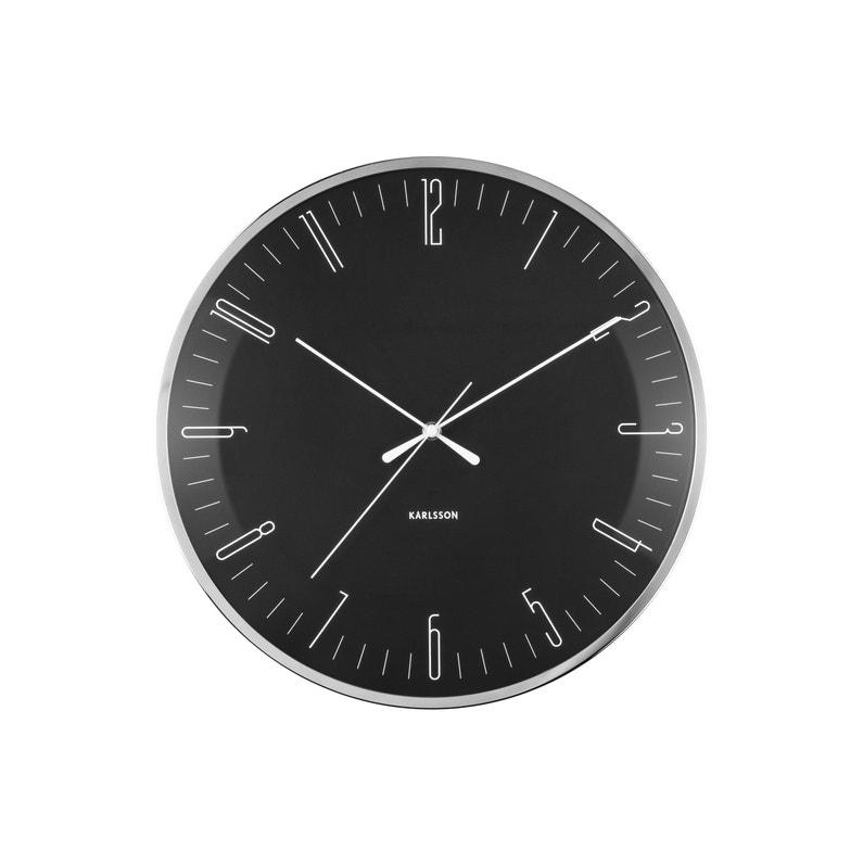 Horloge Verre Dragonfly L40 X H40 Cm