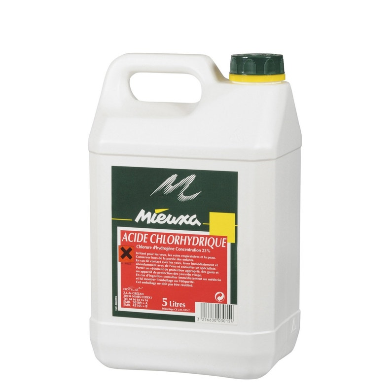 Acide Chlorhydrique Mieuxa 5 L