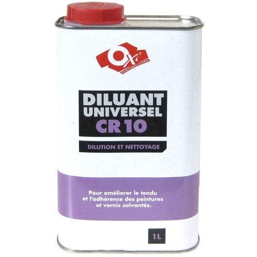 Diluant oxytol 1 l leroy merlin for Utilisation du white spirit