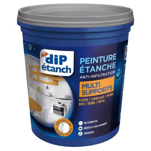 peinture tanche multi supports dip blanc 075 l - Peinture Hydrofuge Salle De Bain