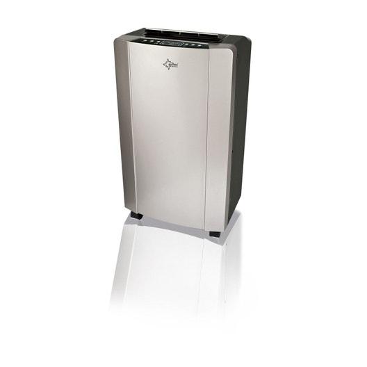 e32c5fe9510552 Climatiseur mobile SUNTEC Progress 12.0 plus 3500 W   Leroy Merlin