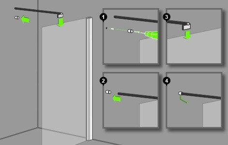 Comment Installer Une Porte De Douche Great Tanchit Paroi Receveur