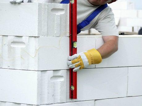 comment construire un mur en béton cellulaire ? | leroy merlin