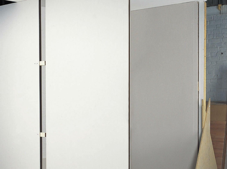 comment monter une cloison en plaques de pl tre. Black Bedroom Furniture Sets. Home Design Ideas