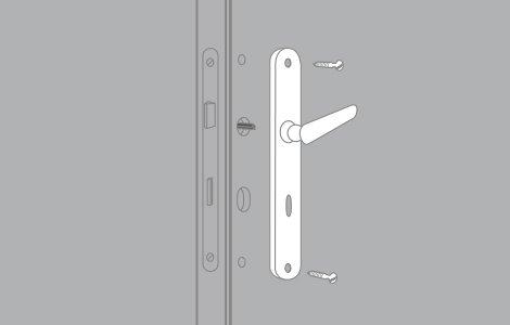 Comment Remplacer Une Serrure De Porte Intrieure   Leroy Merlin