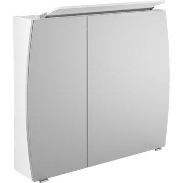 Armoire de toilette armoire salle de bains leroy merlin for Armoire de toilette lumineuse