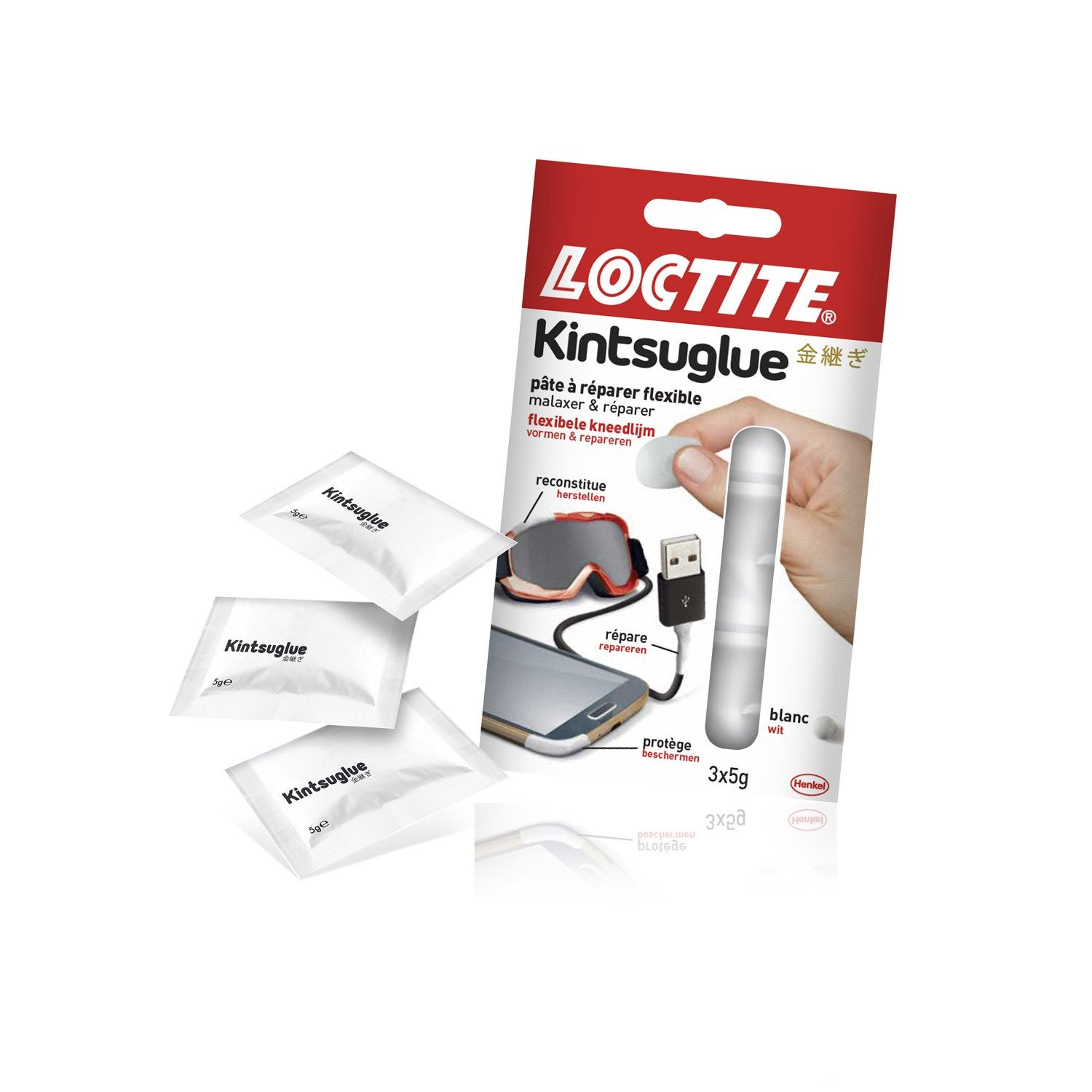 p te r parer flexible kintsuglue blanche loctite 15 g leroy merlin. Black Bedroom Furniture Sets. Home Design Ideas