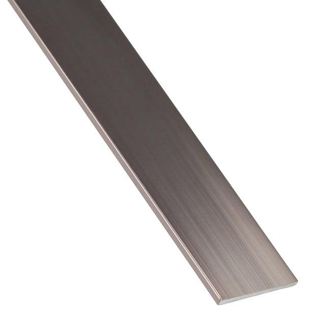 Plat Aluminium Anodisé Blancorange L1 M X L3 Cm X H02 Cm