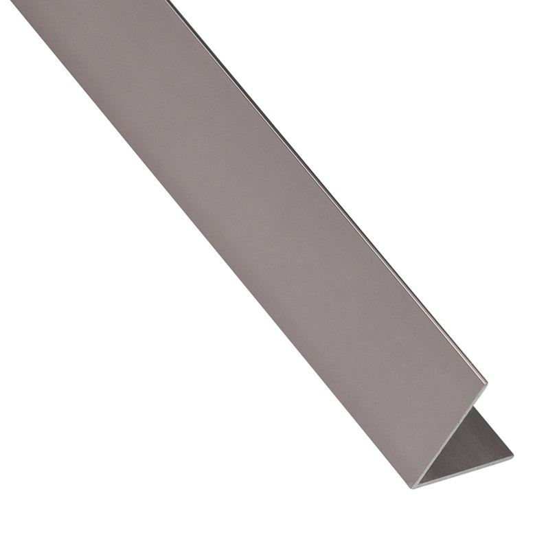 Cornière égale Aluminium Anodisé Blancorange L26 M X L11 Cm X H