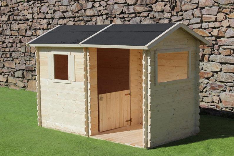 maisonnette en bois leroy merlin cabanes de jardin en. Black Bedroom Furniture Sets. Home Design Ideas