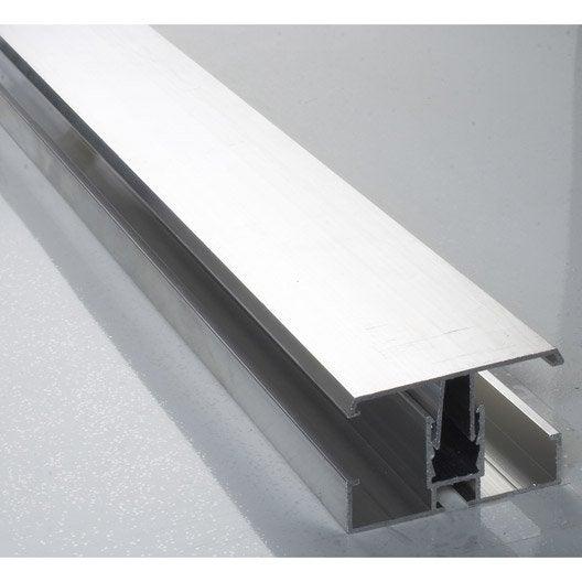 profil jonction pour plaque ep 16 32 mm aluminium l 4 m leroy merlin. Black Bedroom Furniture Sets. Home Design Ideas