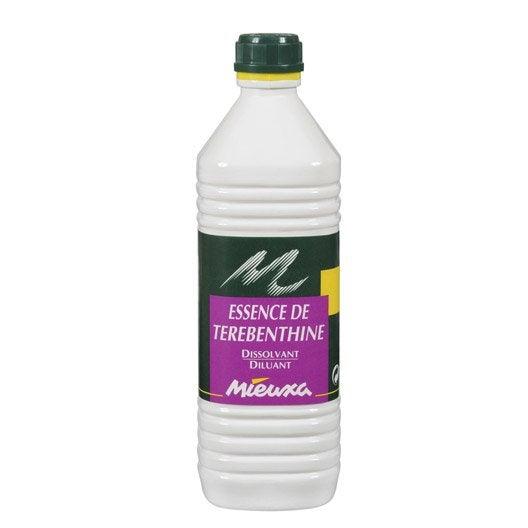 Essence de terebenthine mieuxa 1l leroy merlin - Huile de lin essence de terebenthine ...