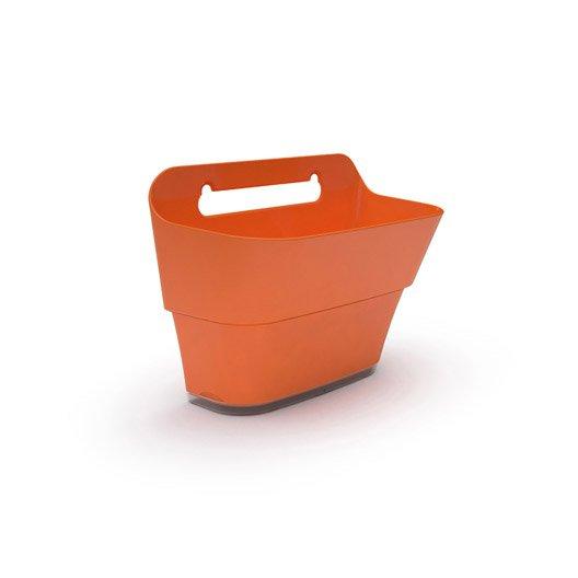 bac plastique grosfillex x x cm orange fusion leroy merlin. Black Bedroom Furniture Sets. Home Design Ideas