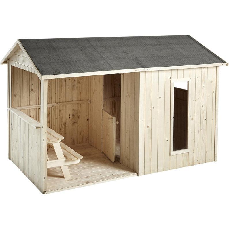maisonnette bois cyrielle soulet m leroy merlin. Black Bedroom Furniture Sets. Home Design Ideas