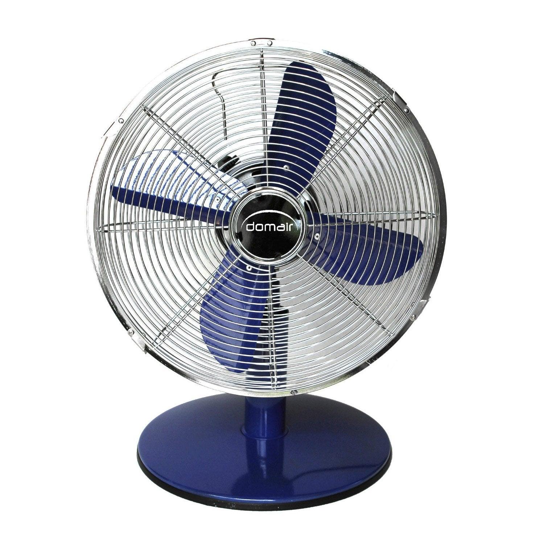 ventilateur poser tm30 bleu domair d30cm 37w leroy merlin. Black Bedroom Furniture Sets. Home Design Ideas