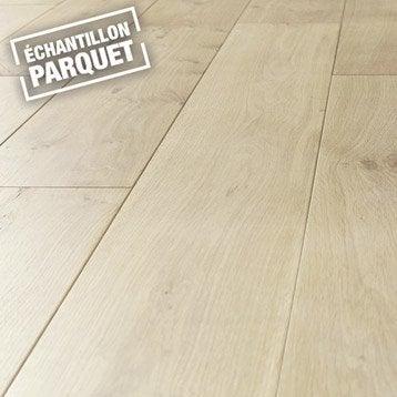 Echantillon parquet massif ARTENS Solid, XL, chêne blond huilé