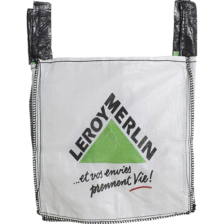 sac gravats big bag 0 5 m3 leroy merlin. Black Bedroom Furniture Sets. Home Design Ideas