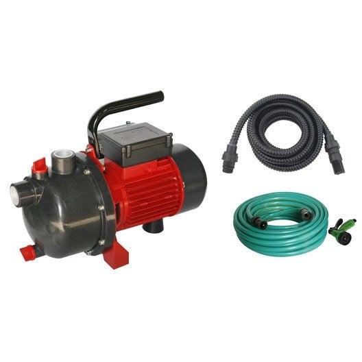 Pompe d 39 arrosage manuelle et automatique leroy merlin - Pompe arrosage automatique ...