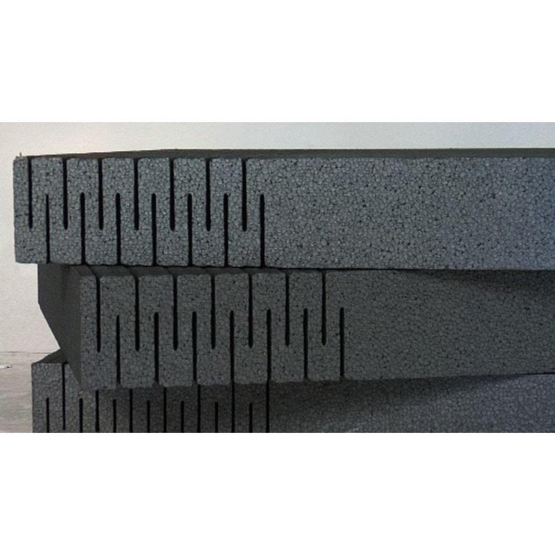 Panneau De Polystyrène Isolant K Therm 1200x460 ép70 Lambda 0032 R22