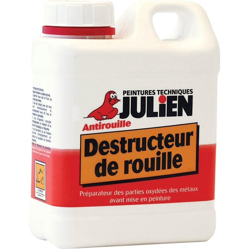 Destructeur De Rouille Extérieur Julien Incolore 1 L