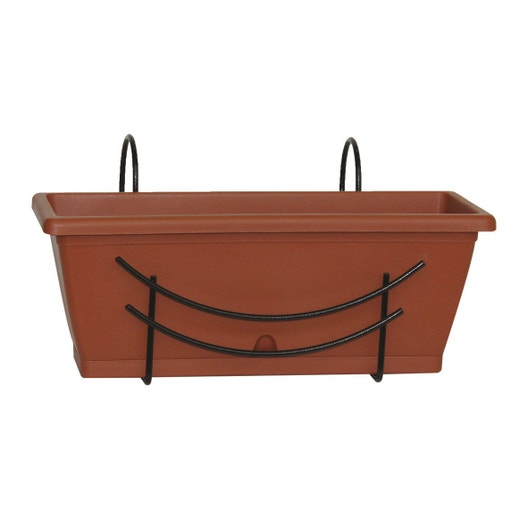 jardini re plastique jardifer x x cm. Black Bedroom Furniture Sets. Home Design Ideas