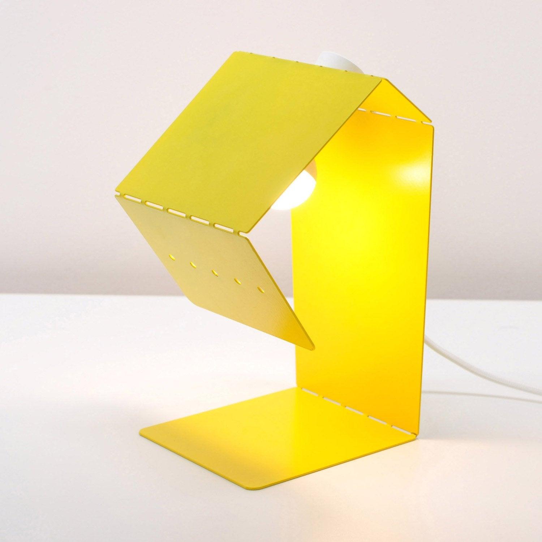 Lampe, e14 Teruki INSPIRE, métal jaune anis n°4, 40 W