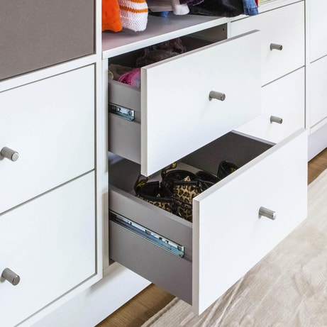 Des tiroirs de rangement ultra-pratiques